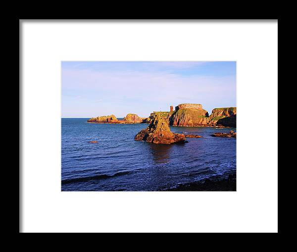 Nik Watt Framed Print featuring the photograph Dunbar Coast by Nik Watt