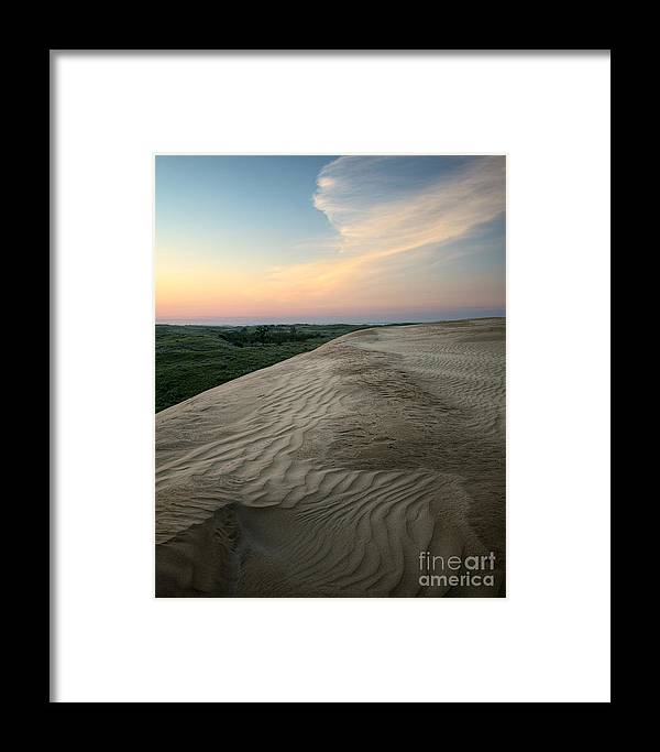 Sand Framed Print featuring the photograph Dune Dawn by Royce Howland