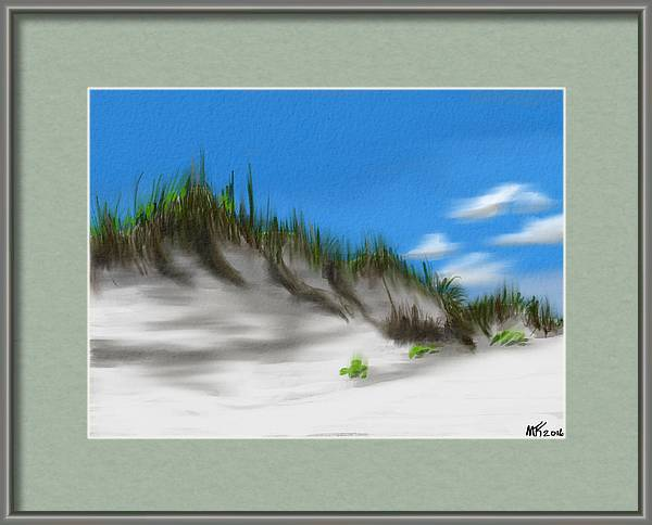 Dunes And Sea Oats by Michael Kallstrom