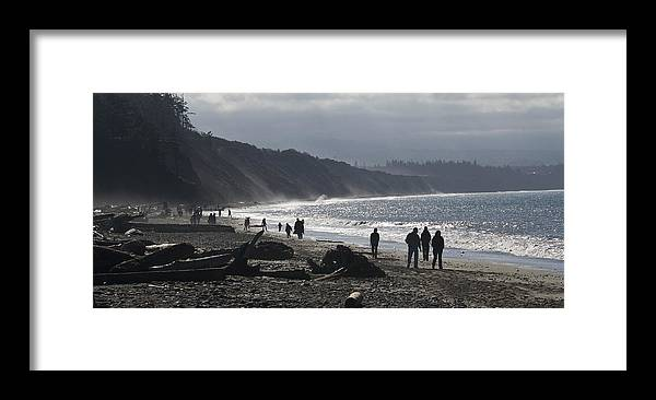 Beach Framed Print featuring the photograph Dungeness Spit by Chad Davis