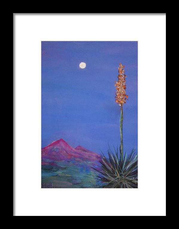 Evening Framed Print featuring the painting Dusk by Melinda Etzold