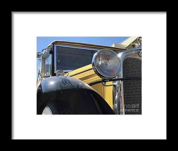 Ford Framed Print featuring the photograph Dusty Old Ford by Steven Parker