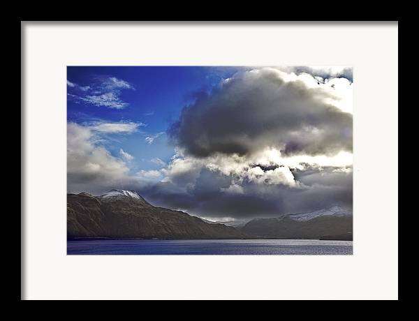 Landscape Framed Print featuring the photograph Dutch Harbor by Wes Shinn