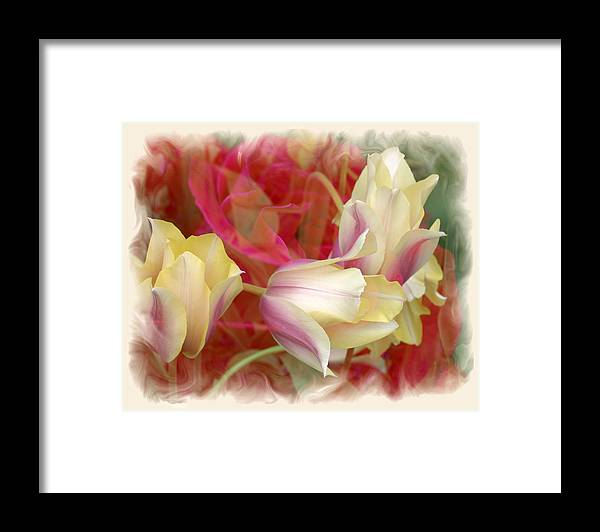 Floral Framed Print featuring the photograph Dutch Treat by Chuck Brittenham