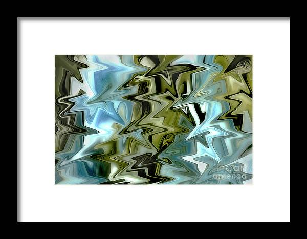 Abstract Framed Print featuring the photograph Dynamic by Mike Eingle
