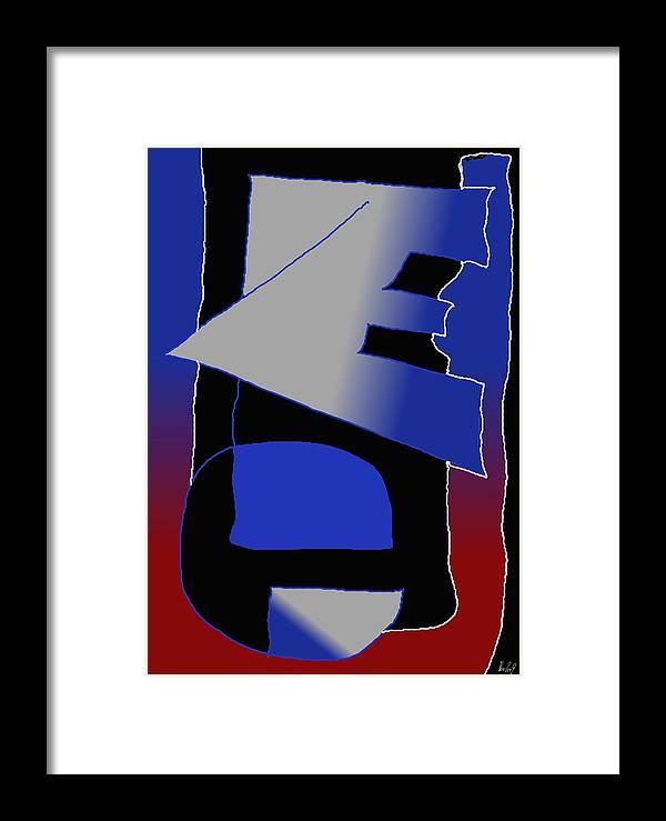 Eu Framed Print featuring the digital art E-likes-eu by Helmut Rottler