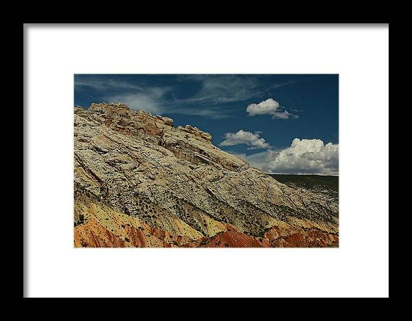 Desert Southwest Framed Print featuring the photograph Eargth And Sky by Kurt Meredith