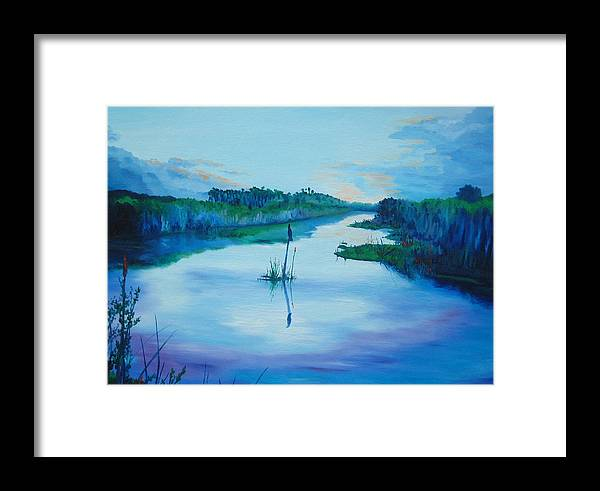 Sunrise Framed Print featuring the painting Early Morn by Blaine Filthaut