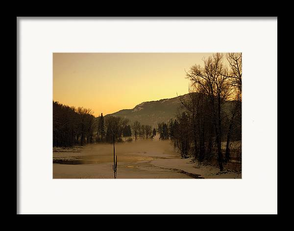 Framed Print featuring the photograph Early Morning In Easter Wa by JK Photography