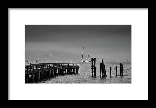 San Francisco Framed Print featuring the photograph Early Morning Fog In The San Francisco Bay by Rob Nicholson