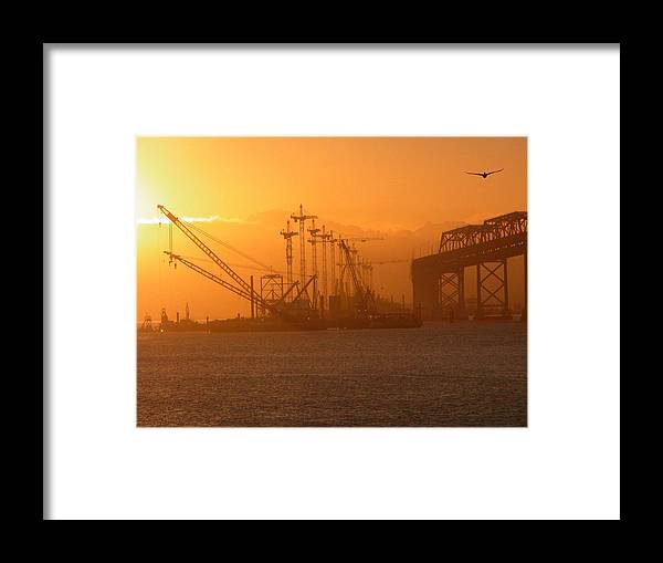 Sunrise Framed Print featuring the photograph Early Morning by Jerry Patchin