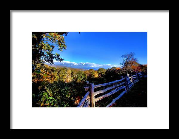 Landscape Framed Print featuring the photograph Early Morning Light by Larry Jones