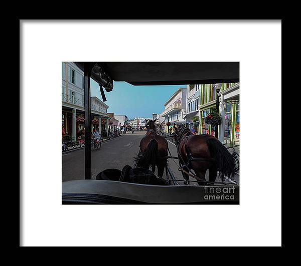Mackinac Island Framed Print featuring the photograph Early Morning Mackinac Island by Randy J Heath