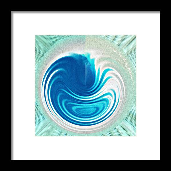 Abstract Framed Print featuring the photograph Early Stirrings by Addie Hocynec