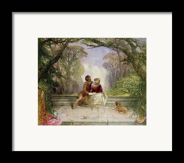 Early Summer By Alfred Woolmer (1805-92) Framed Print featuring the painting Early Summer by Alfred Woolmer