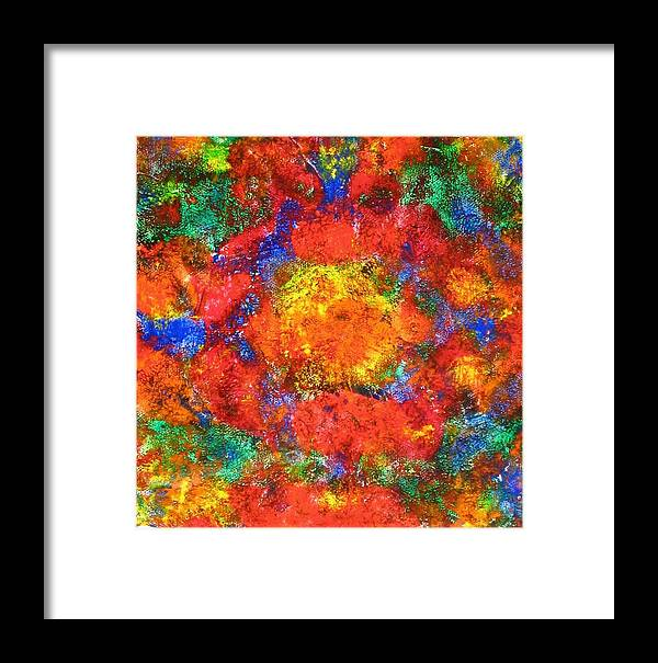 Acrylic Framed Print featuring the painting Earnest IIi by Sophia Elise