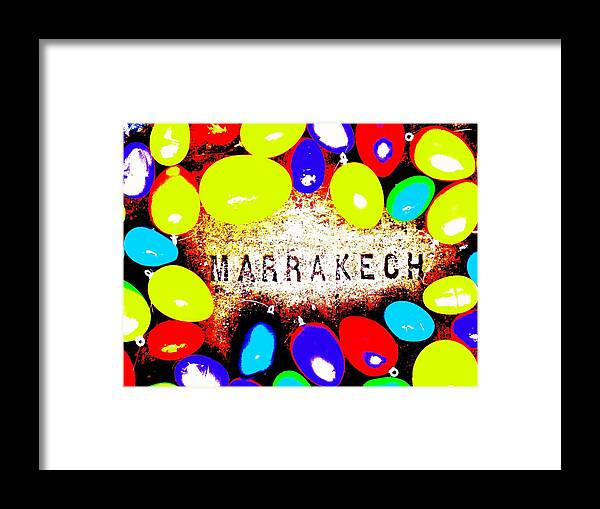 Easter Framed Print featuring the photograph Easter In Marrakech by Funkpix Photo Hunter