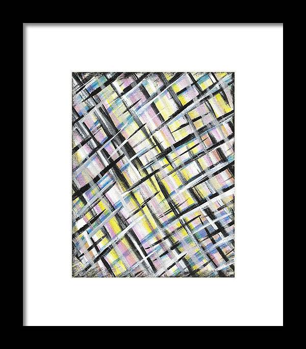 Easter Framed Print featuring the painting Easter Weave by Eric Atherton