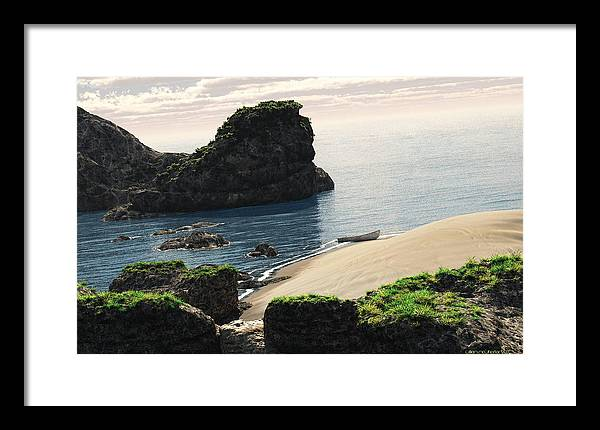 3d Framed Print featuring the painting Eastern Coastline by Williem McWhorter