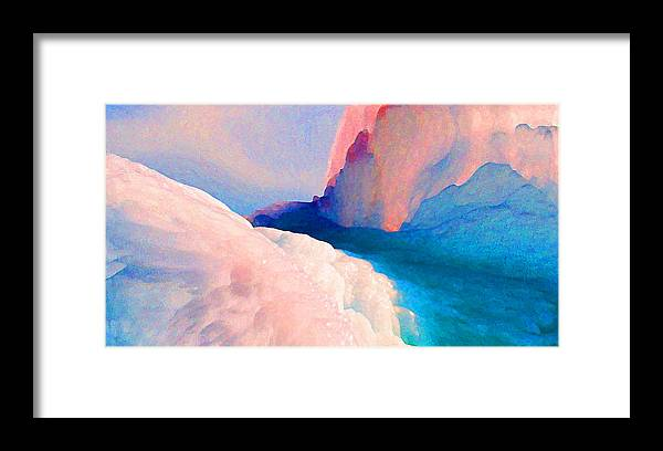 Abstract Framed Print featuring the photograph Ebb and Flow by Steve Karol