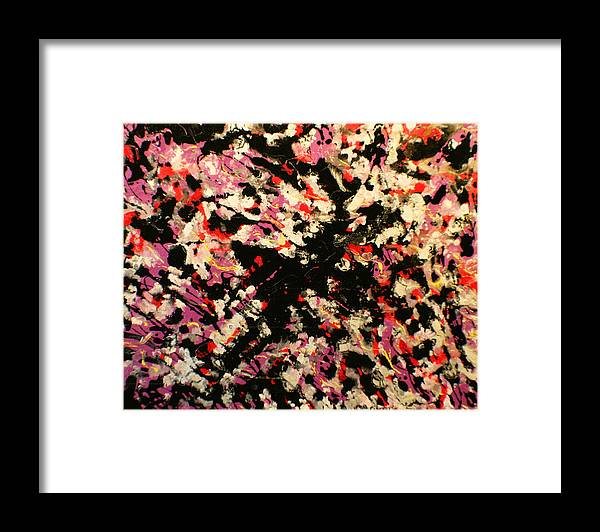 Color And Movement Framed Print featuring the painting Eccitazione by Biagio Civale