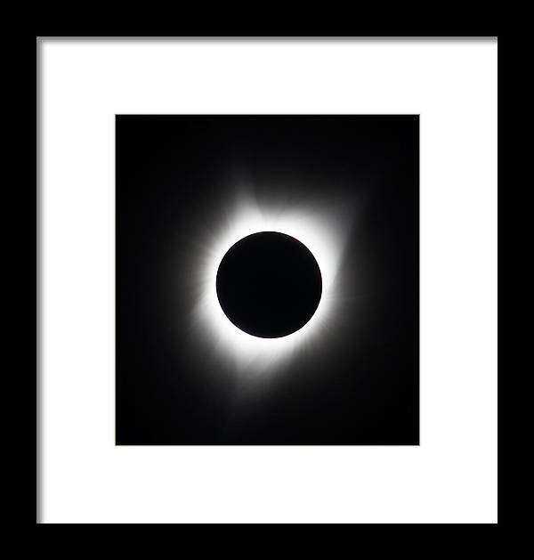 Eclipse Framed Print featuring the photograph Eclipse by Ronald Jansen