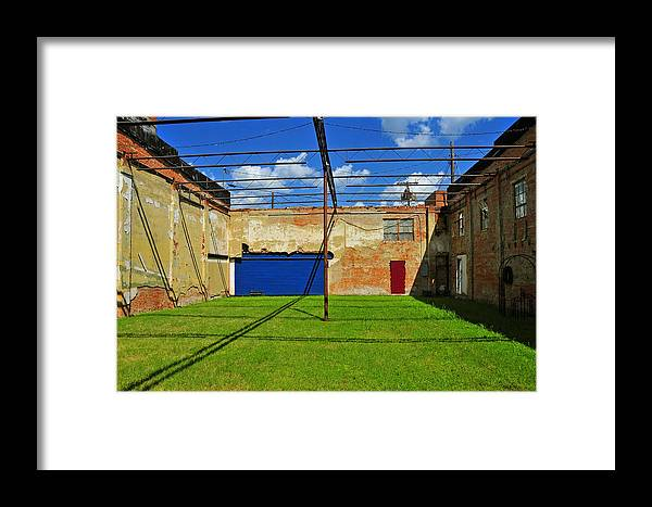 Skiphunt Framed Print featuring the photograph Eco-store by Skip Hunt