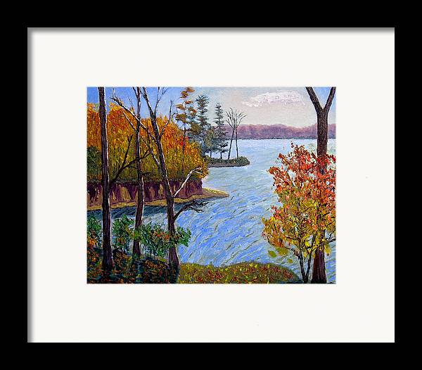 Original Oil On Canvas Framed Print featuring the painting Ecp 10-26 by Stan Hamilton