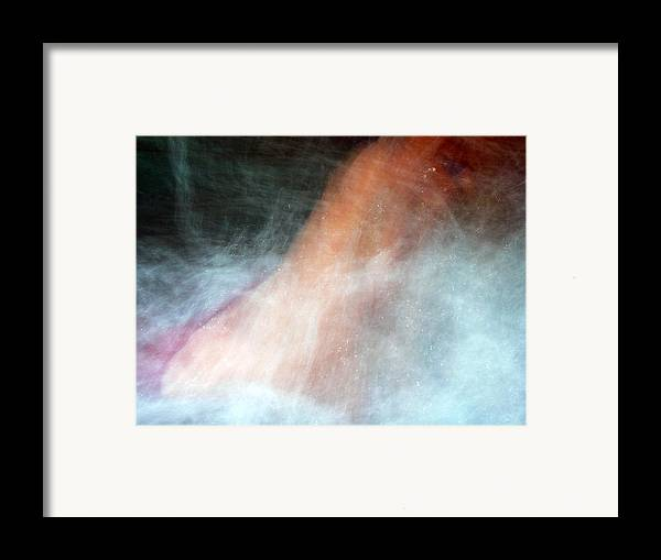 Figurative Framed Print featuring the photograph Ecstatic Hydro-experience by Brad Wilson