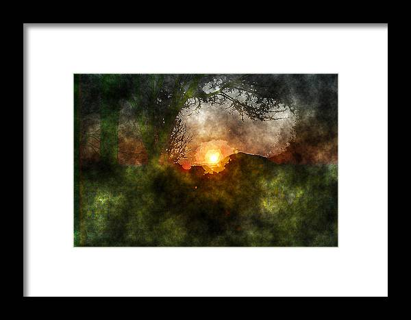 Sun Framed Print featuring the photograph Edens Sunrise by Julie Lueders