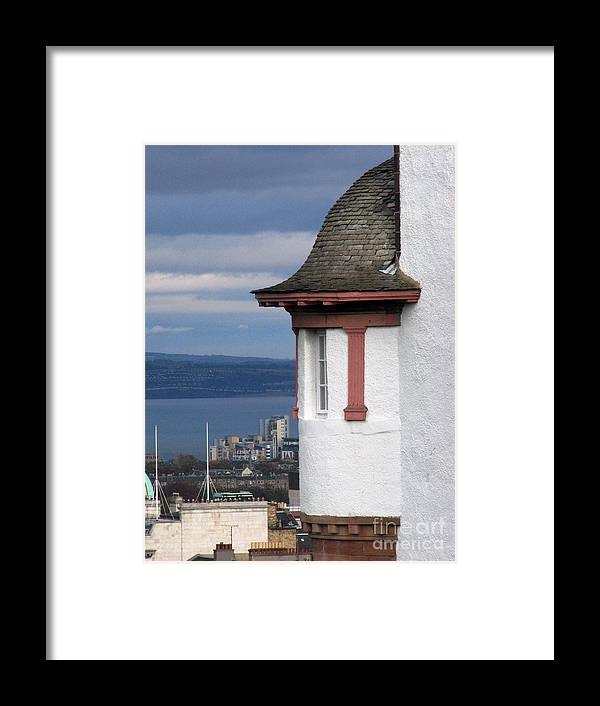 Scotland Framed Print featuring the digital art Edinburgh Scotland by Amanda Barcon