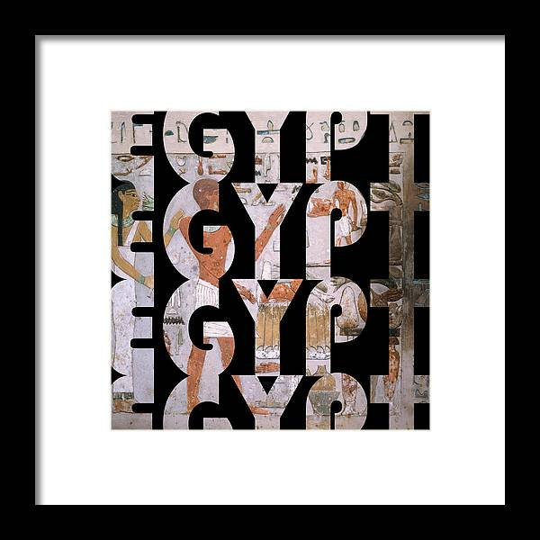 Egypt Framed Print featuring the photograph Egypt 6 by Andrew Fare