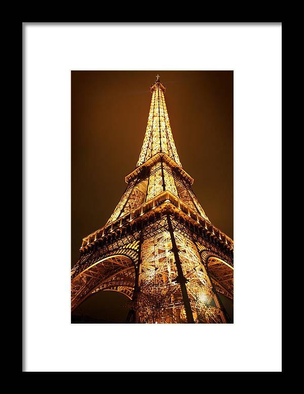 Eiffel Framed Print featuring the photograph Eiffel by Skip Hunt