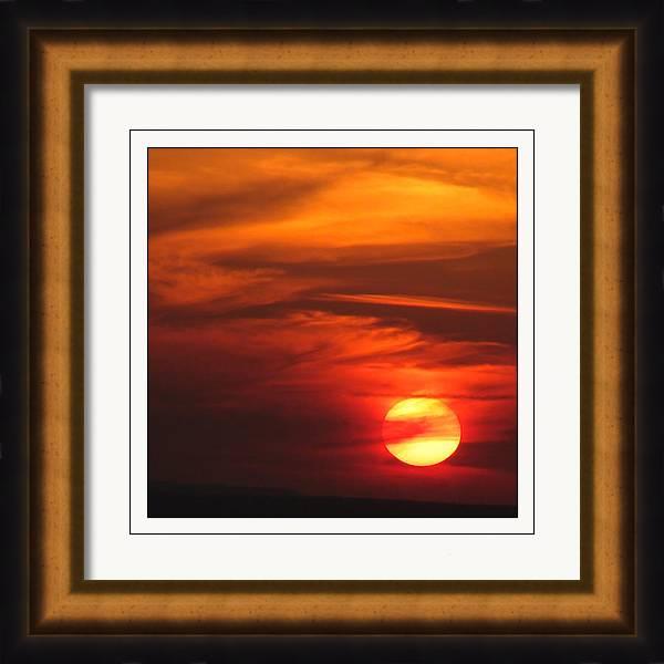 Sunset Framed Print featuring the photograph Eiffel Sunset by M Urbanski