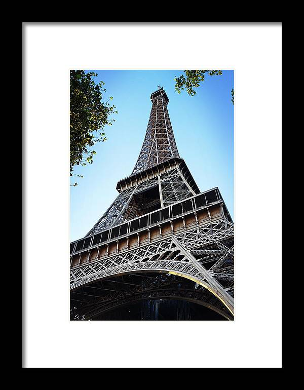 Eiffel Tower Framed Print featuring the photograph Eiffel Tower 5 by Craig Andrews