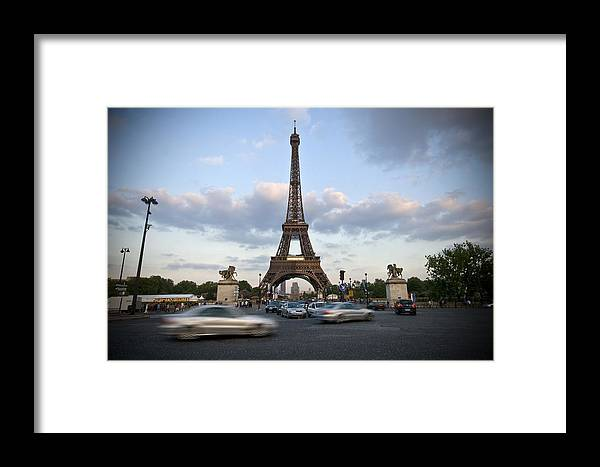 Europe Framed Print featuring the photograph Eiffel Tower by Krista Corcoran Photography