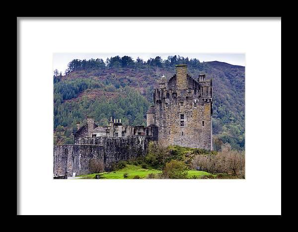 Scotland Framed Print featuring the photograph Eilean Donan Castle by John McKinlay