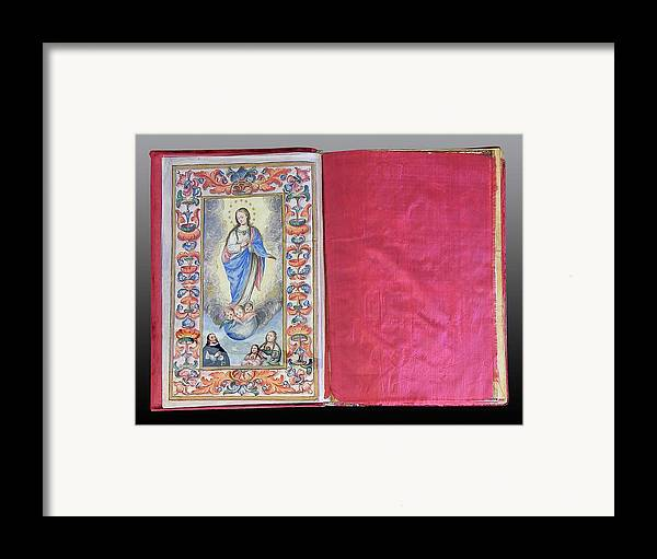 Framed Print featuring the photograph Ejecutorias 1 by Unknown