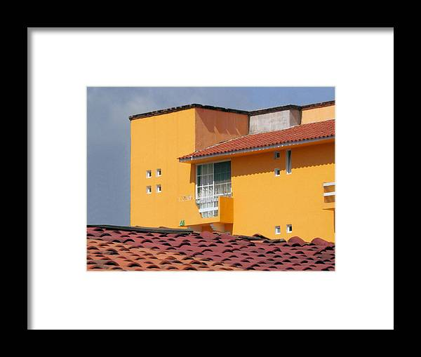 House Framed Print featuring the photograph el Apartamento by Robert Boyette