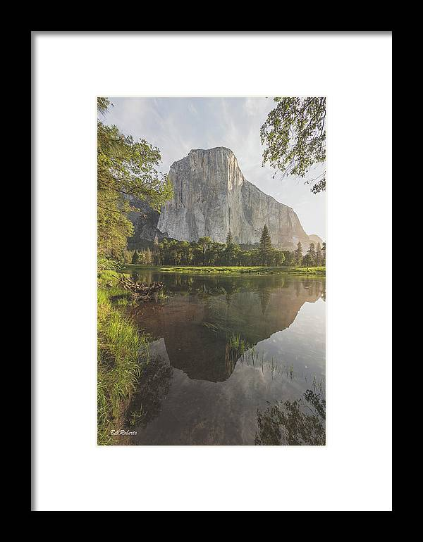California Framed Print featuring the photograph El Capitan In Reflection by Bill Roberts