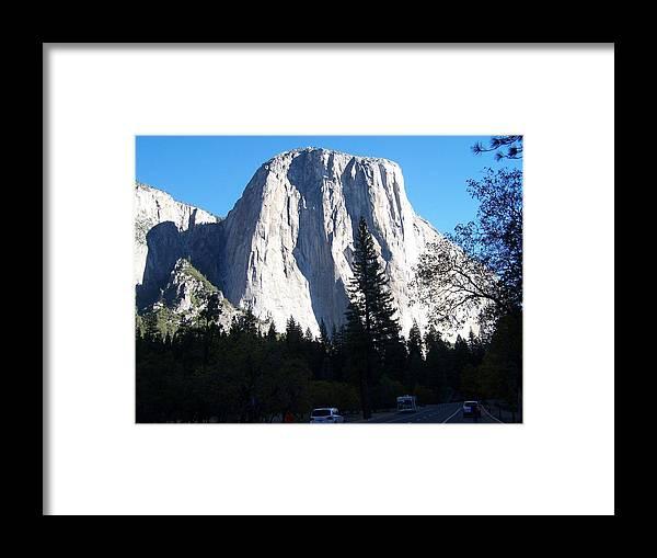 El Capitan Framed Print featuring the photograph El Capitan Yosemite by Vijay Sharon Govender