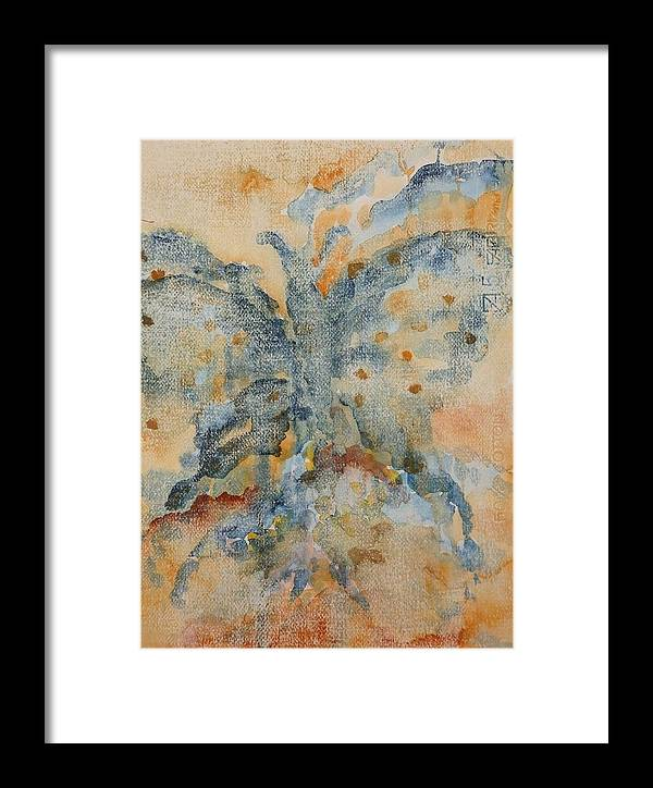 Book Framed Print featuring the painting El Genio Curioso 3 by Francisco Guijar Cubero