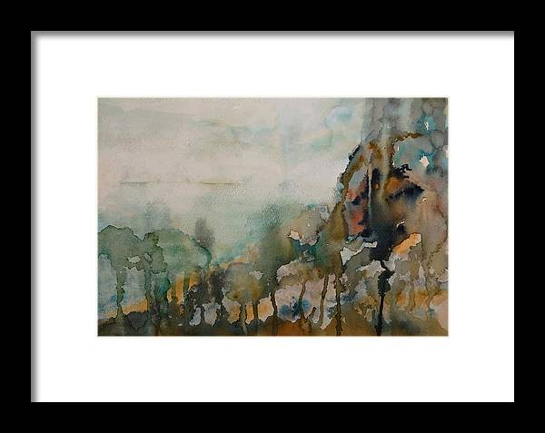 Book Framed Print featuring the painting El Genio Curioso 9 by Francisco Guijar Cubero