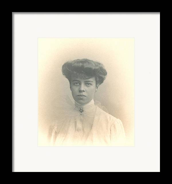 History Framed Print featuring the photograph Eleanor Roosevelts Coming Out Portrait by Everett