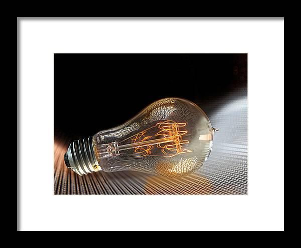 Light Framed Print featuring the photograph Electricentric by Robert Och