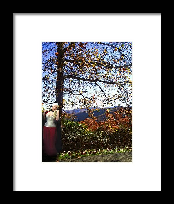 Fall Framed Print featuring the photograph Elegant Fall by Scarlett Royal
