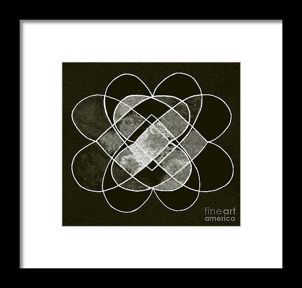 Elemental Framed Print featuring the digital art Elemetal Matrix by Norma Appleton