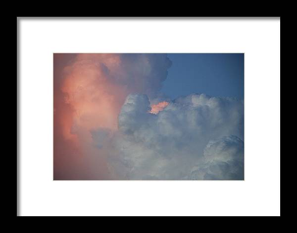 Clouds Framed Print featuring the photograph Elephant In The Sky by Rob Hans