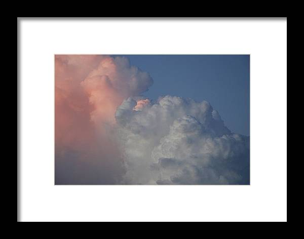 Clouds Framed Print featuring the photograph Elephant Sky by Rob Hans
