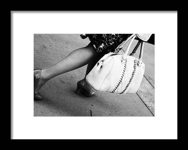 Street Photography Framed Print featuring the photograph Eleven Bells by The Artist Project